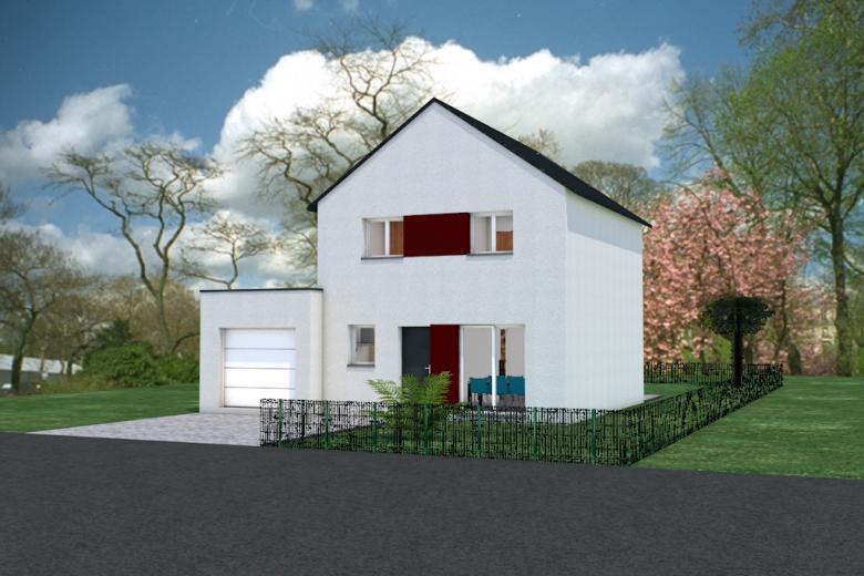 Maison contemporaine 3 chambres - Photo 1