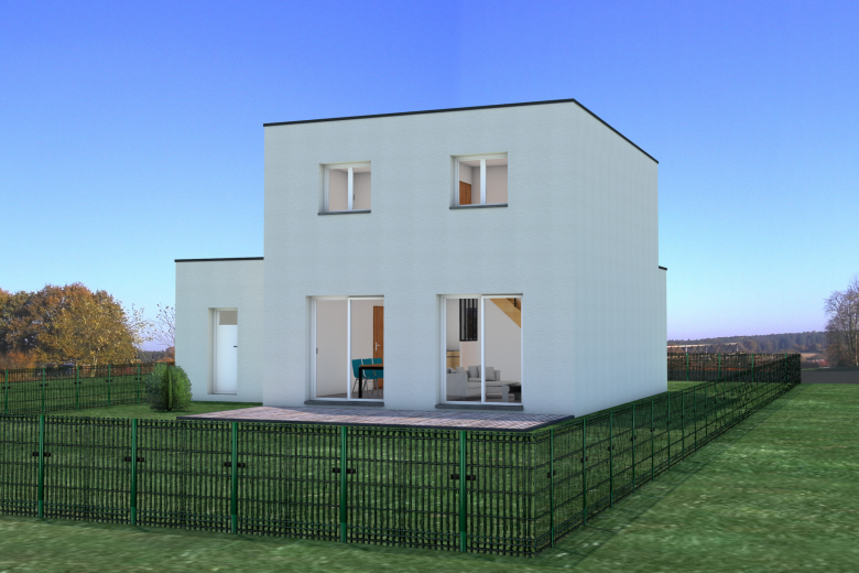 Maison contemporaine 4 chambres - Photo 2
